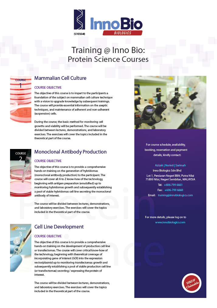 Innobio Protein Science Training